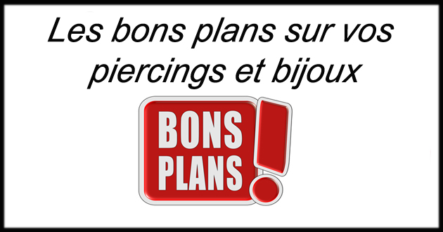 code r duction piercings et bijoux pas cher en ligne chez piercing alice. Black Bedroom Furniture Sets. Home Design Ideas