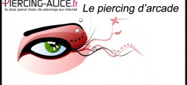 Piercing de l'arrcade sourcilliére