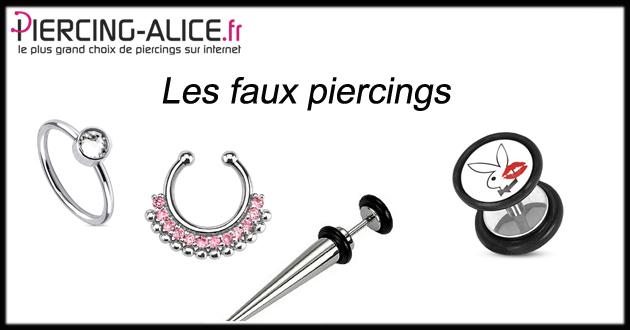 les faux piercings piercing le blog de piercing. Black Bedroom Furniture Sets. Home Design Ideas