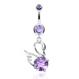 piercing violet en zirconium