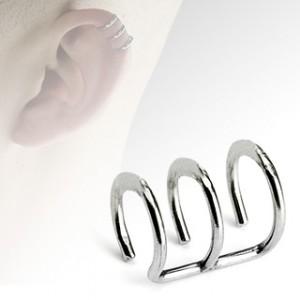 faux anneau de piercing