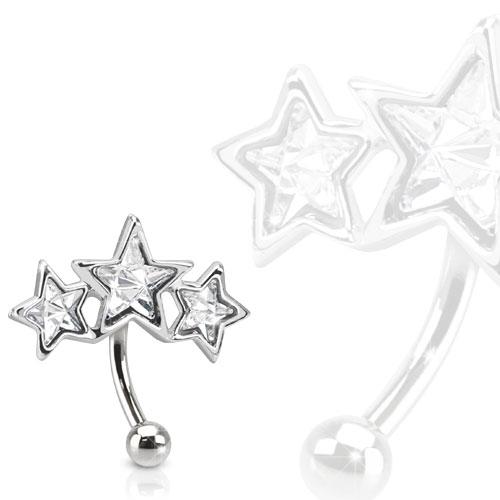 piercing étoile