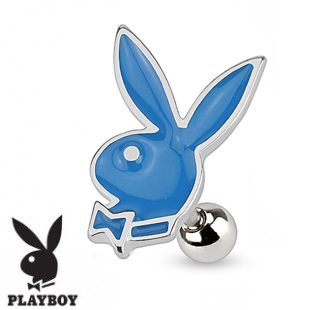 Piercings playboy pour le tragus