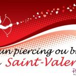 Piercings et bijoux à offrir à la Saint-Valentin