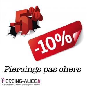 Acheter des piercings pas cher avec vos points fidélité